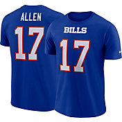 Nike Men's Buffalo Bills Josh Allen #17 Pride Royal T-Shirt