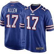 Josh Allen #17 Nike Men's Buffalo Bills Home Game Jersey