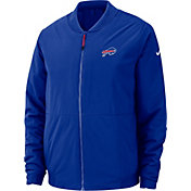 Nike Men's Buffalo Bills Sideline Shield Blue Bomber Jacket