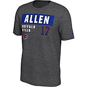 Nike Men's Buffalo Bills Josh Allen #17 Marled Grey T-Shirt