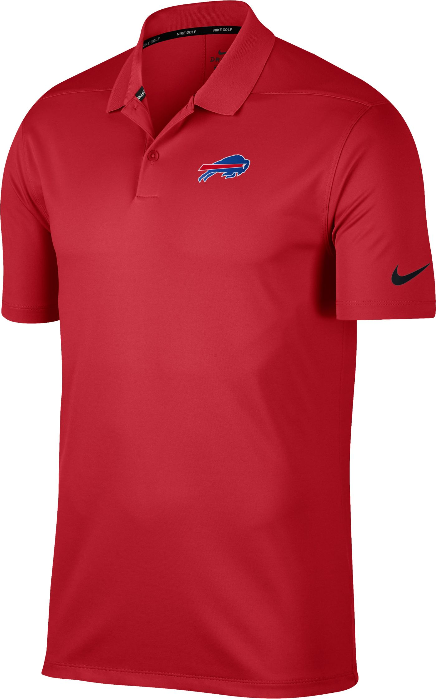 Nike Men's Buffalo Bills Victory Red Golf Polo