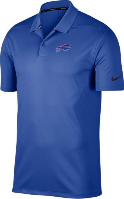Nike Men's Buffalo Bills Victory Royal Golf Polo