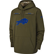 Nike Men's Salute to Service Buffalo Bills Therma-FIT Performance Hoodie