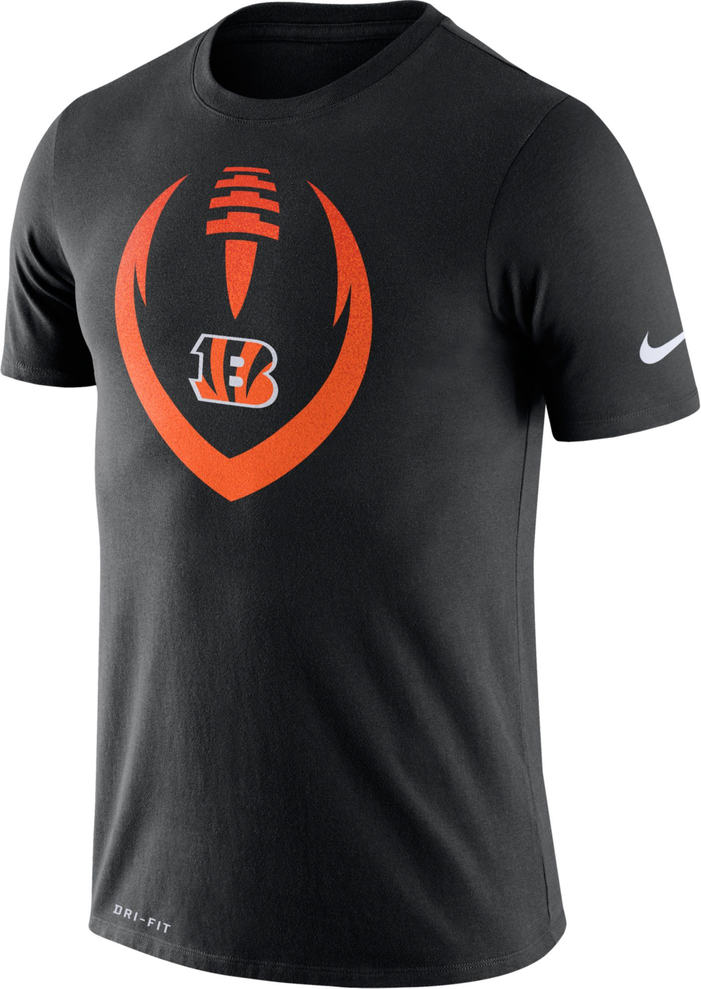 Nike Men's Cincinnati Bengals Icon Black Performance T-Shirt