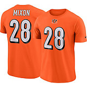 Nike Men's Cincinnati Bengals Joe Mixon #28 Pride Logo Orange T-Shirt