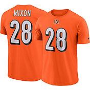 Nike Men's Cincinnati Bengals Joe Mixon #28 Pride Logo Orange T-Shirt