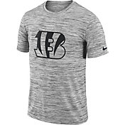 Nike Men's Cincinnati Bengals Legend Velocity Travel Performance Grey T-Shirt