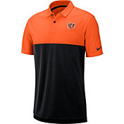 Nike Men's Cincinnati Bengals Sideline Early Season Orange Polo