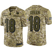 Nike Men's Salute to Service Cincinnati Bengals A.J. Green #18 Camouflage Limited Jersey