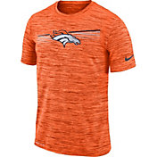 Nike Men's Denver Broncos Sideline Legend Velocity Orange T-Shirt