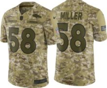pretty nice ee1b7 a0ccd Nike Men s Salute to Service Denver Broncos Von Miller  58 Limited Jersey