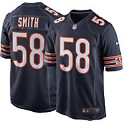 Roquan Smith #58 Nike Men's Chicago Bears Home Game Jersey