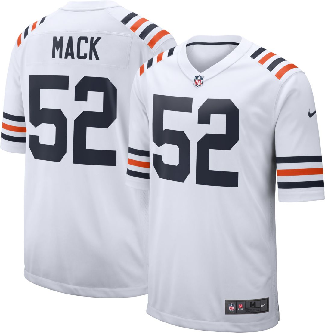 best website 09541 29f75 Nike Men's Alternate Game Jersey Chicago Bears Khalil Mack #52