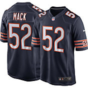 Nike Men's Chicago Bears Khalil Mack #52 Navy Game Jersey