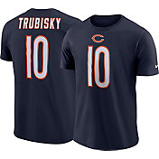 Mitch Trubisky #10 Nike Men's Chicago Bears Pride Navy T-Shirt