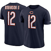 Nike Men's Chicago Bears Allen Robinson #12 Pride Logo Navy T-Shirt