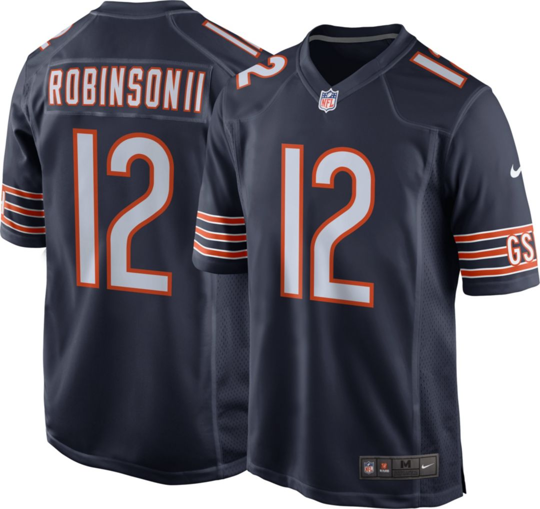 new product f6abf 76eea Nike Men's Home Game Jersey Chicago Bears Allen Robinson #12