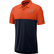Nike Men's Chicago Bears Sideline Early Season Orange Polo