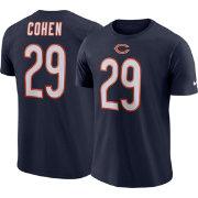 Nike Men s Chicago Bears Tarik Cohen  29 Logo Navy T-Shirt  e4212f9d2
