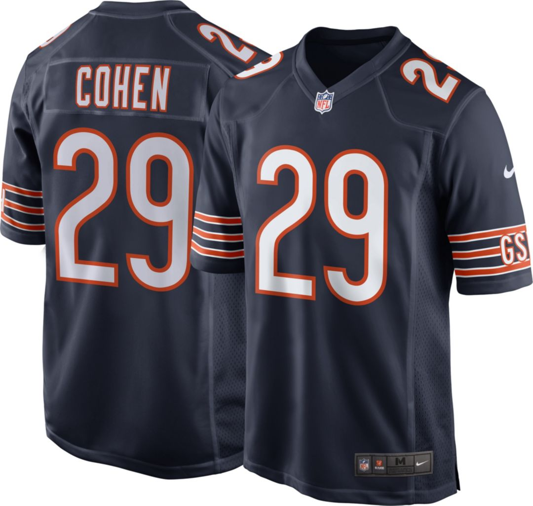 sale retailer cc9fd 86889 Nike Men's Home Game Jersey Chicago Bears Tarik Cohen #29