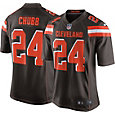 Nike Men's Home Game Jersey Cleveland Browns Nick Chubb #24