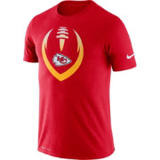 Nike Men's Kansas City Chiefs Icon Red Performance T-Shirt