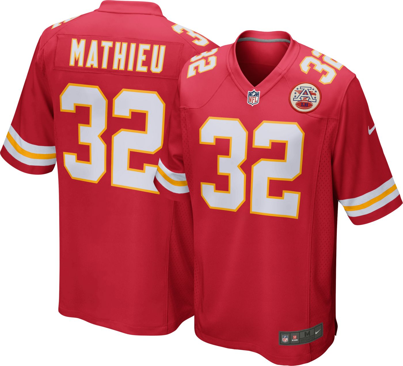 Nike Men's Home Game Jersey Kansas City Chiefs Tyrann Mathieu #32