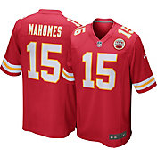 Nike Men's Kansas City Chiefs Patrick Mahomes #15 Red Game Jersey