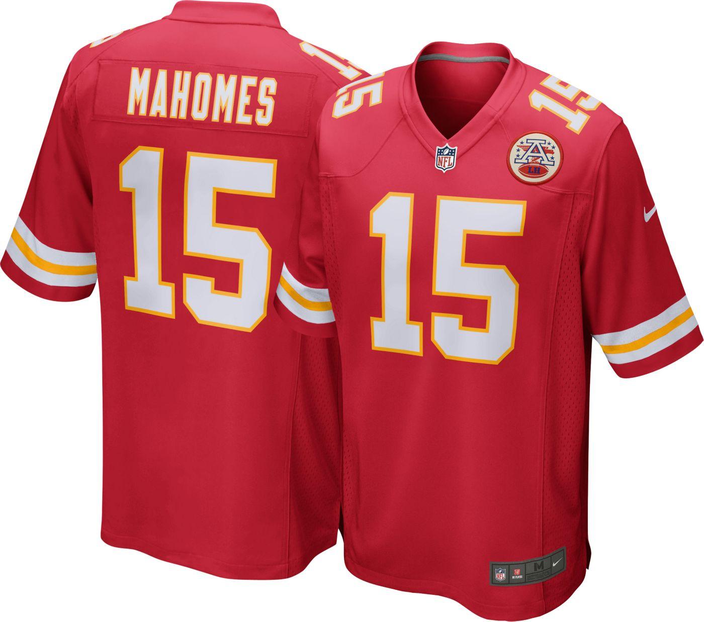 Nike Men's Home Game Jersey Kansas City Chiefs Patrick Mahomes #15