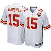 Nike Men's Kansas City Chiefs Patrick Mahomes #15 White Game Jersey