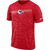 Nike Men's Kansas City Chiefs Sideline Legend Velocity Red T-Shirt