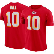 Tyreek Hill #10 Nike Men's Kansas City Chiefs Pride Red T-Shirt
