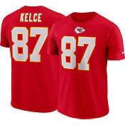 66592195a4078 Nike Men's Kansas City Chiefs Travis Kelce #87 Pride Logo Red T-Shirt