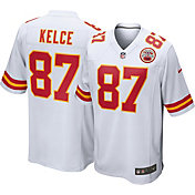Nike Men's Kansas City Chiefs Travis Kelce #87 White Game Jersey