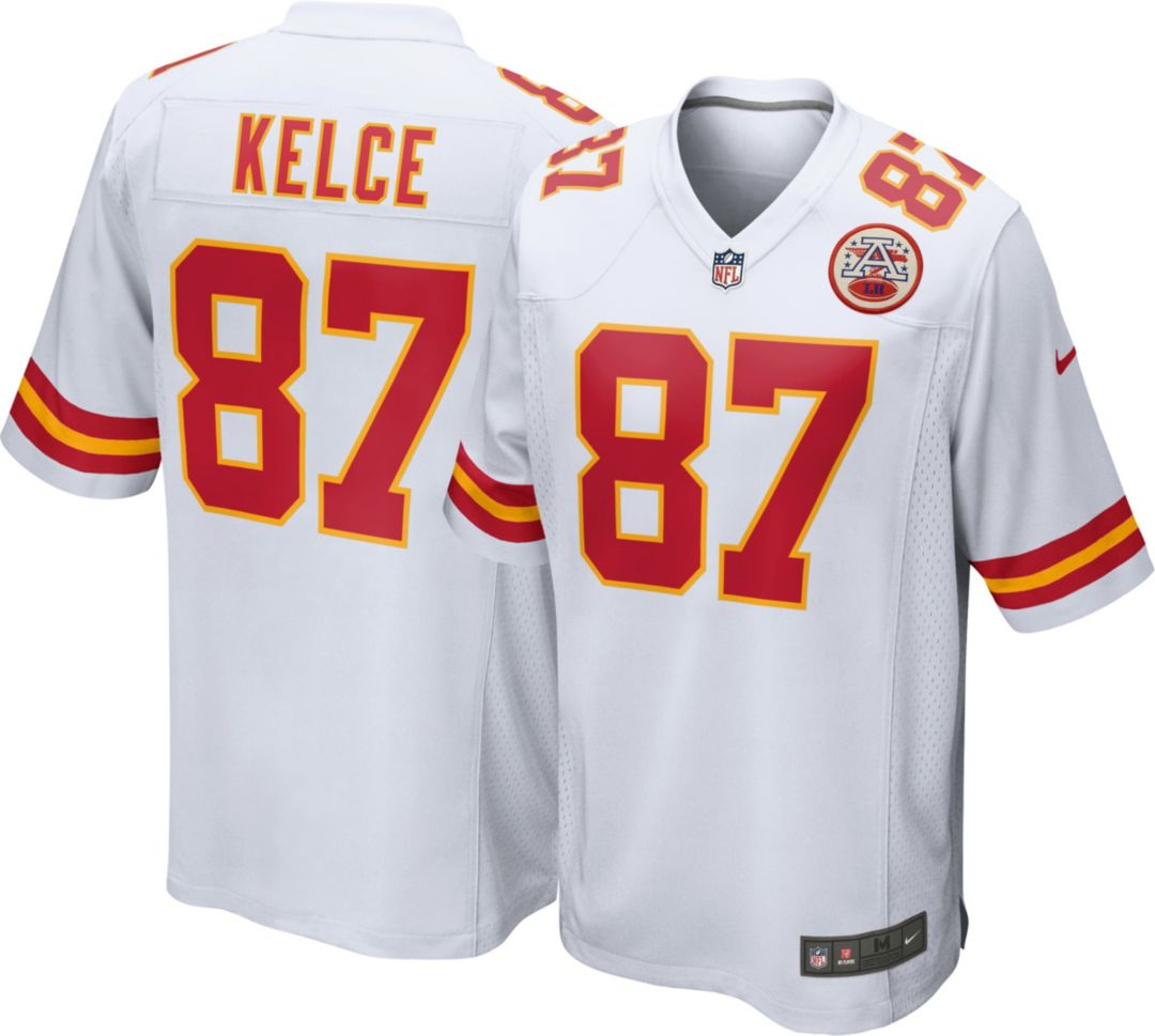 brand new 5012c e3b1a Nike Men's Away Game Jersey Kansas City Chiefs Travis Kelce #87