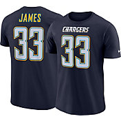 Derwin James #33 Nike Men's Los Angeles Chargers Pride Navy T-Shirt