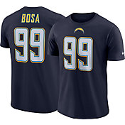 Nike Men's Los Angeles Chargers Joey Bosa #99 Pride Logo Navy T-Shirt