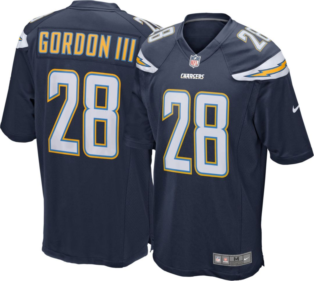 official photos 21f0a 3e3d9 Nike Men's Home Game Jersey Los Angeles Chargers Melvin Gordon #28