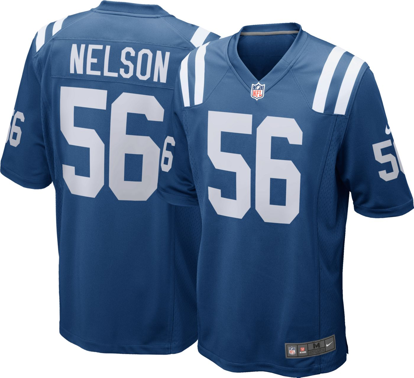 Nike Men's Home Game Jersey Indianapolis Colts Quenton Nelson #56