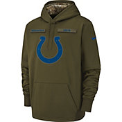 Nike Men's Salute to Service Indianapolis Colts Therma-FIT Performance Hoodie