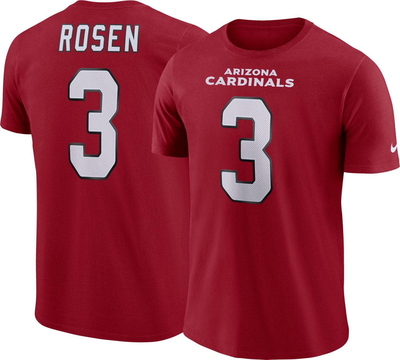 Josh Rosen Nike Men's Arizona Cardinals Pride Red T-Shirt