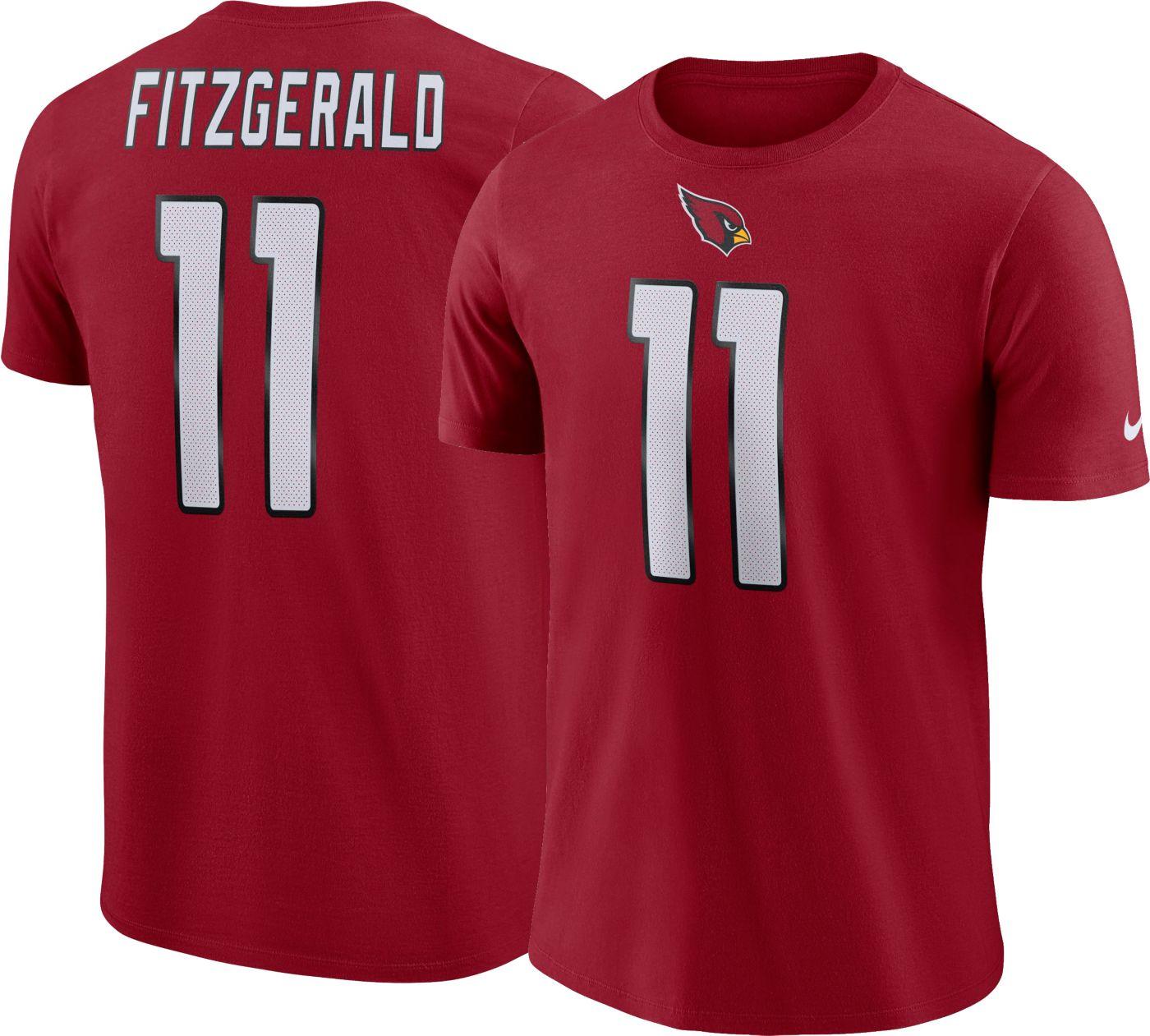 Larry Fitzgerald #11 Nike Men's Arizona Cardinals Pride Red T-Shirt