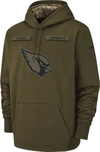 c278bbd4e Nike Men s Salute to Service Arizona Cardinals Therma-FIT Performance Hoodie.  noImageFound