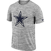 Nike Men's Dallas Cowboys Legend Velocity Travel Performance Grey T-Shirt
