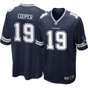 Nike Men's Navy Game Jersey Dallas Cowboys Amari Cooper #19
