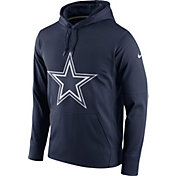 Nike Men's Dallas Cowboys Essential Logo Navy Hoodie