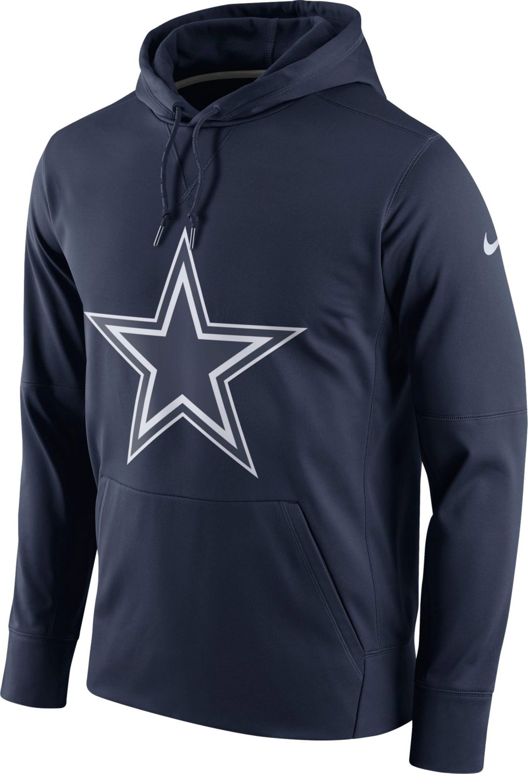 wholesale dealer ac2b9 1d0c0 Nike Men's Dallas Cowboys Essential Logo Navy Hoodie