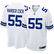 Nike Men's White Game Jersey Dallas Cowboys Leighton Vander Esch #55