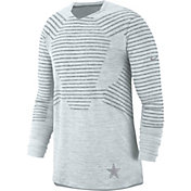 Nike Men's Dallas Cowboys Delta Force Platinum Players Top