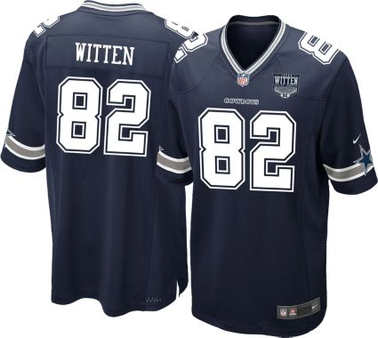 buy online 978bc 37bb5 Nike Men's Game Jersey Patch Dallas Cowboys Jason Witten #82
